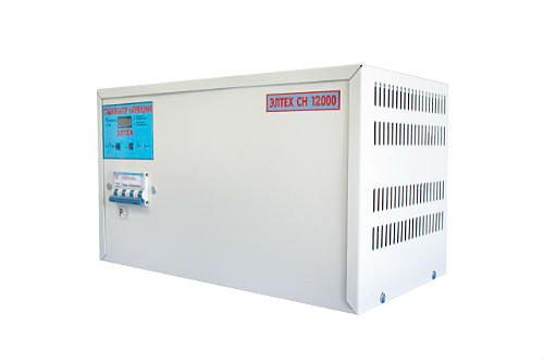 Купить стабилизатор напряжения 12 кВт со скидкой в 30%!!!